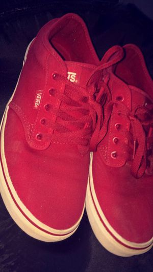 Red Vans size 9.5 for Sale in Wheeling, WV