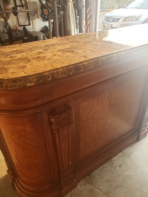 Bar solid granic top (Ashley's) for Sale in Madera, CA