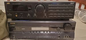 Onkyo amp, JVC receiver for Sale in Concord, CA