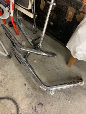 Harley dynaglide side pipes Vance & Hines great condition! for Sale in Marysville, WA