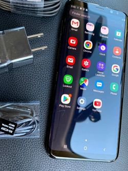 Samsung Galaxy S8, Factory Unlocked phone,works perfectly, Excellent condition like new for Sale in Springfield,  VA