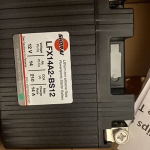 Brand New Shorai Lithium Ion Motorcycle Battery for Sale in Houston, TX