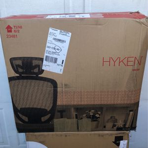 Hyken Black Office Chair for Sale in San Dimas, CA