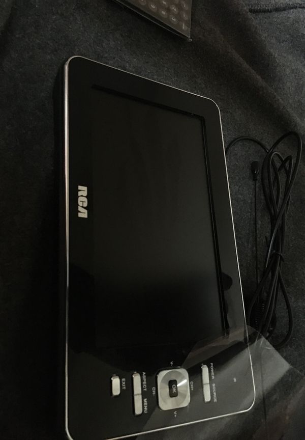 RCA 7 inch portable LCD TV brand new never opened never used brand new /comes with remote and antenna needs DC 12v 1a adaptor has built in 2x Lithiu