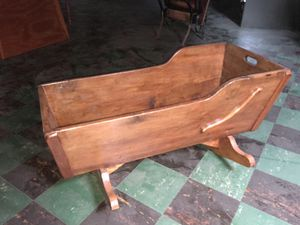 Antique baby cradle for Sale in New Market, MD