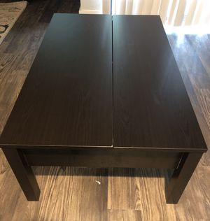 Black/Brown Coffee Table for Sale in Austin, TX