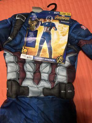 Boys Captain America Halloween Costume for Sale in Clovis, CA