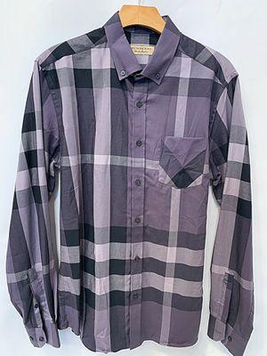 Brand New Burberry Men's Shirt Grey for Sale in Inglewood, CA