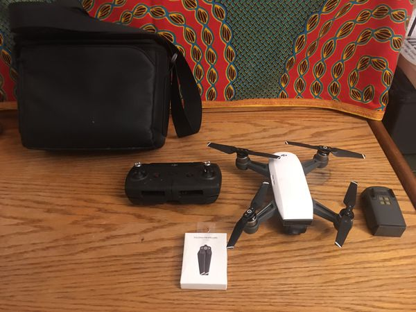 DJI Spark Drone w Controller & Extras