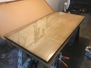 Doten Dunton Solid Mohagany Desk/ Table Top 1930's for Sale in Bremerton, WA