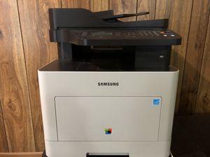 Samsung CLX 6260 FD Colored LaserJet Wireless Printer - Copier - Scanner - Fax for Sale in West Springfield, VA