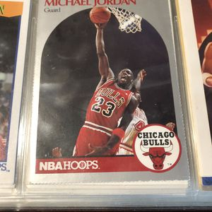 Michael Jordan 1990 Hoops #65 Card for Sale in Oakwood, GA