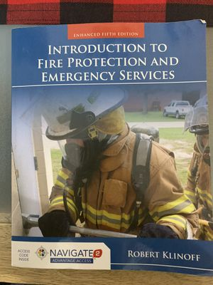 Introductions to Fire Protection and Emergency Services for Sale in La Puente, CA