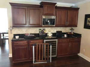 High end Dark wood cabinets for Sale in Pinellas Park, FL