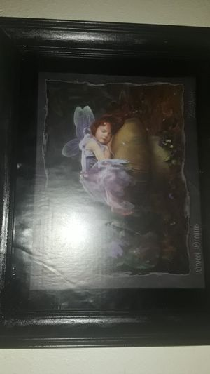 Framed fairy picture for Sale in Sweet Home, OR