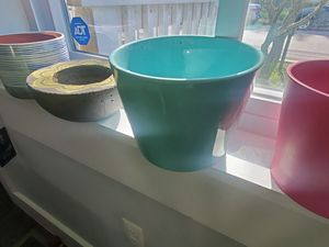 Five Assorted Plant and Flower Pots for Sale in Hyattsville, MD
