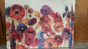 Floral canvas painting for Sale in La Mirada, CA