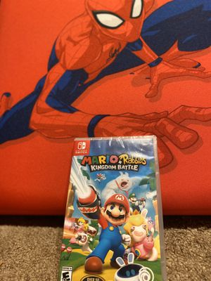 """Mario Rabbit For Nintendo Switch $20 """" Brand New"""" for Sale in Stoneham, MA"""