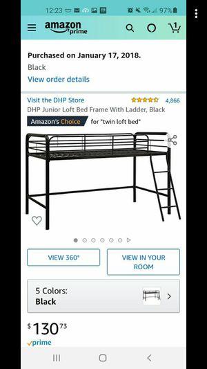 Twin loft bed for Sale in Greenville, SC