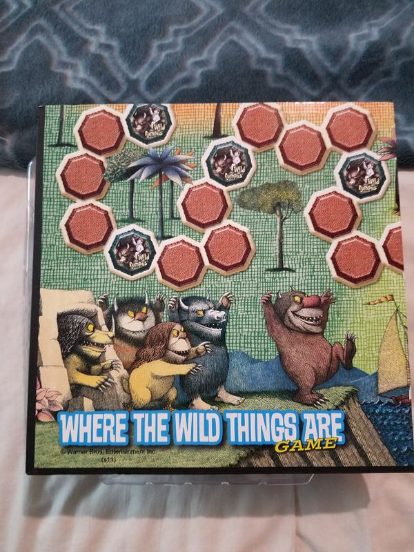 where the wild things are dvd and game combo