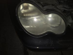 Mercedes C class headlights good shape ! 1st $99 gets both for Sale in Henderson, NV