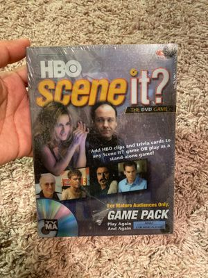 HBO Scene it the DVD game for Sale in Clermont, FL