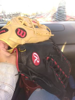Baseball gloves for Sale in Lakewood, CO