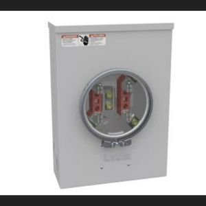 Milbank 200 Amp 4-Terminal Ringtype Underground Meter Socket for Sale in Victorville, CA