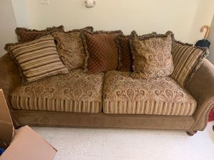 Cindy Crawford Sofa and Love Seat for Sale for sale  Brooklyn, NY