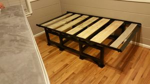 Twin bed frame from bbls racks for Sale in Santa Maria, CA