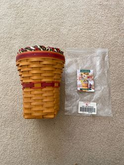 Longaberger Snapdragon Basket 1998 May Series combo for Sale in Loma Linda,  CA