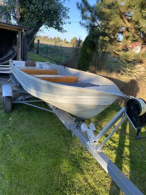 Aluminum boat for Sale in Gresham, OR