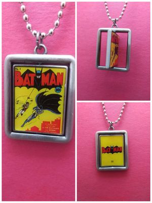 Spinning Picture Batman Necklace for Sale in Grove City, OH