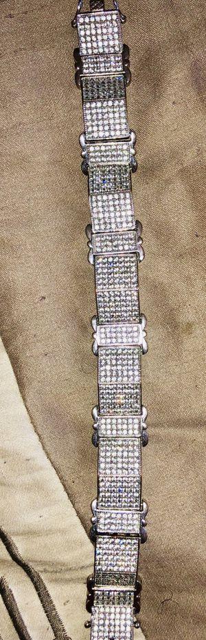 Sterling silver 925 men's bracelet NICE for Sale in Winter Haven, FL