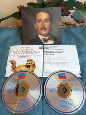Puccini TURANDOT London 414-274-2 for Sale in Cranston, RI