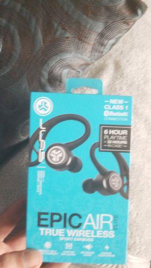 JLabs epic air sport elite wireless earbuds for Sale in Rocklin, CA