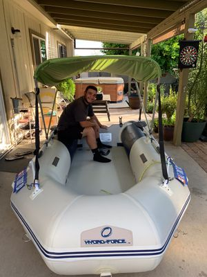 10.5 ft inflatable boat new for Sale in Phoenix, AZ