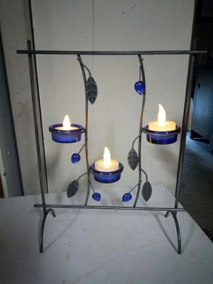 Decorative metal tea lights holder for Sale in Puyallup, WA