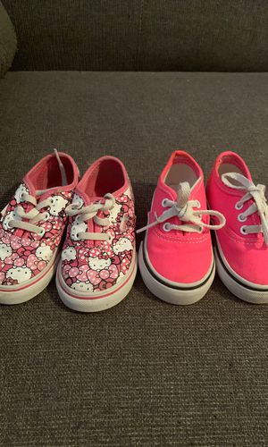 Babygirl vans for Sale in Bakersfield, CA