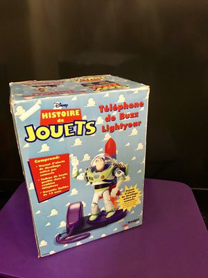 Awesome! Disney Vintage Buzzlight year telephone Brand New In Box ! for Sale in Detroit, MI