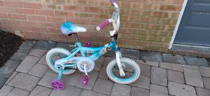 Frozen bike bicycle child girls training wheels for Sale in Virginia Beach, VA