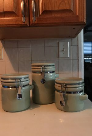 Three-piece Kitchen Container Set for Sale in South Pasadena, FL