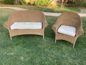 Wicker outdoor furniture set for Sale in San Jose, CA