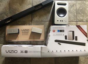 VIZIO SB3651-E6B 5.1 Soundbar Home Speaker, Black for Sale in Houston, TX