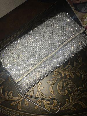 Silver purse for Sale in Auburndale, FL