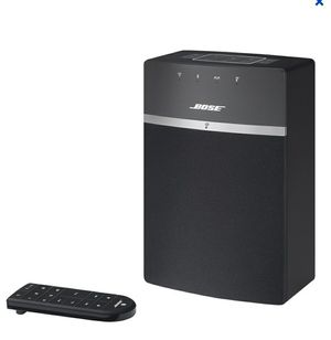 Bose - SoundTouch; 10 Wireless Music System - Blac for Sale in Riverbank, CA