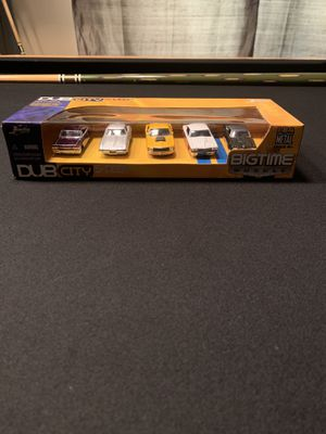 Jada Toys Dub City 5 Deep Big Time Muscle 1:64 scale Die-Cast Cars for Sale in Glendale, AZ