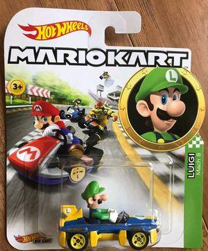 2019 Hot Wheels Nintendo LUIGI MACH 8 Mariokart for Sale in Nashville, TN
