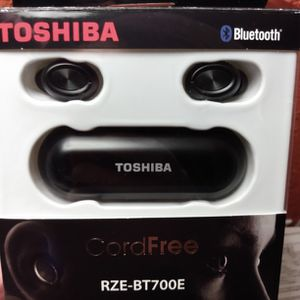 TOSHIBA Rze-BT700E Through Wireless Bluetooth Earbuds With Microphone for Sale in Everett, WA