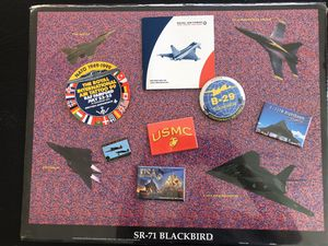 SR71 magic eye poster and miscellaneous military items, magnets etc. for Sale in Bradenton, FL